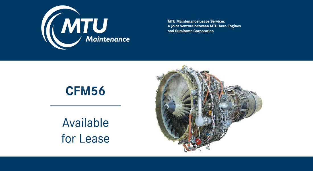 CFM56 7B AvailableForLease